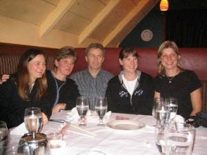 Me, Cathy, Malcolm, Lizzie and Sue